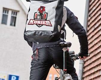 Versanddienstleister Niedersachsen Fahrradkurier B3